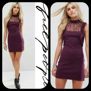 Free People Beaumont Muse Lace sexy Dress LPD